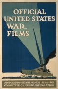 Vintage War Poster Official United States War Films